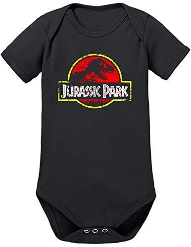 TShirt-People Body para bebé con logotipo de Jurassic Park negro 12-18 Meses