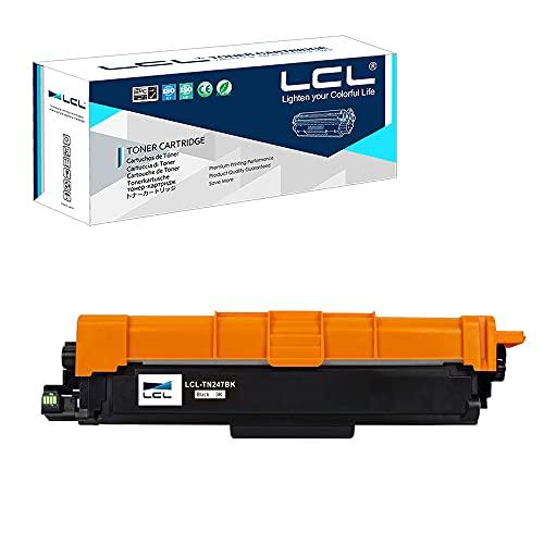 LCL Cartucho de tóner Compatible TN243 TN247 TN-247 TN247BK TN-247BK 3000Páginas Negro Reemplazo para Brother HL-L3210CW HL-L3230CDW HL-L3270CDW MFC-L3710CDW MFC-L3750CDW MFC-L3770CDW