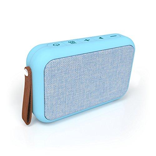 Tzumi Rectangle Bluetooth Speaker, Blue