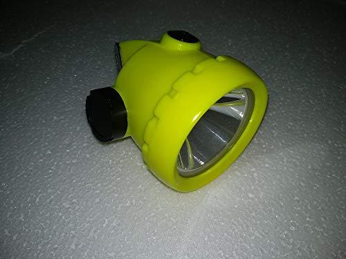 weichuang Linterna Frontal Mini Inalámbrico Led Mineros Lámpara De Minería Faro con Cargador 2200ma