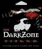 ROTOSOUND DZ10 DARK ZONE ダーク・ゾーン エレキギター弦 (ドロップチューニング向け):6セット
