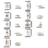 Zoom IMG-1 pandahall 9 stili strass ciondolo