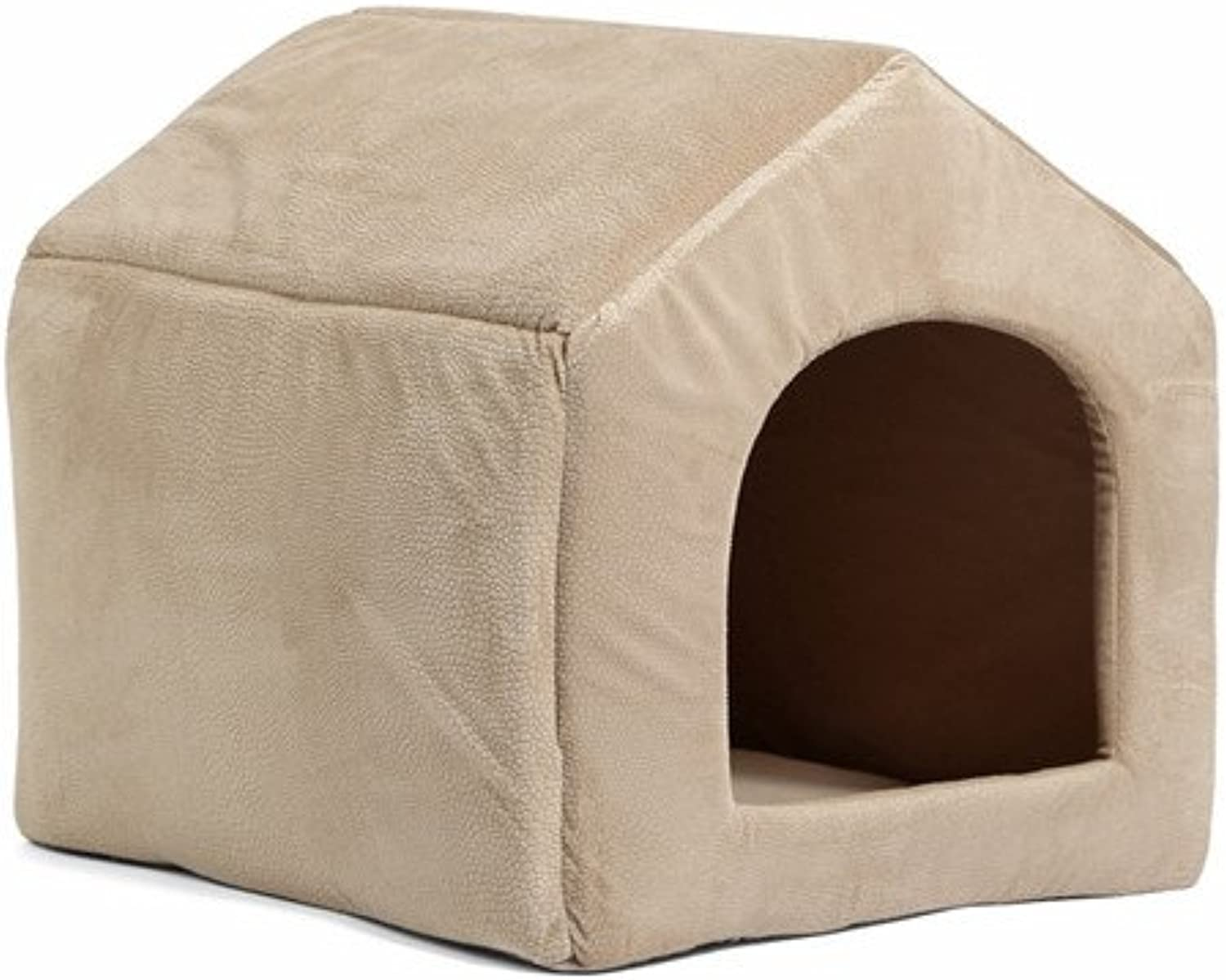 Cookisn Pet Products Luxury Dog House Cozy Dog Bed Puppy Kennel 5 color Pet Sleeping Bed Cat Cushion Kitten Mats Pet Shop Beige L