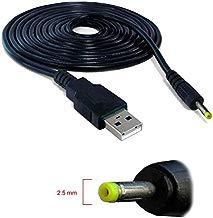 Cable USB Cargador para Tablet Android MP3 2.5mm 5v 2A Alimentación