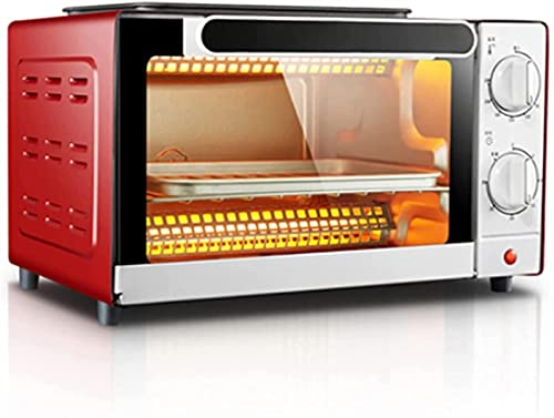 YYDMBH Oven,Air Fryers Oven Electric,air Fryer Table Top Oven Multifunctional Household Baking Machine 10L Capacity Temperature Adjustment with Timer Pizza Bread Cake Oven Kitchen Baking air Fryer