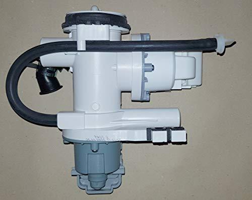 Waschmaschine Laugenpumpe inkl. Motor komp. für Samsung WW80J6400CW/EG