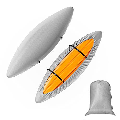 KDD Kayak Canoe Cover for Outdoor/Indoor Storage, Kayak Accessories...
