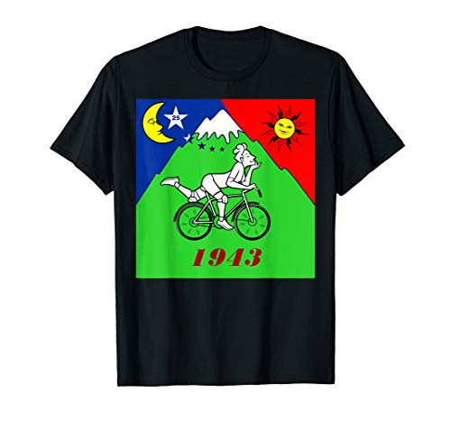 Bicycle Day 1943 LSD Scientist Creator Acid T-Shirt