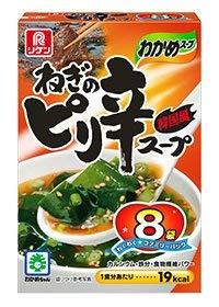 理研ビタミン『わかめスープ ねぎのピリ辛スープ』