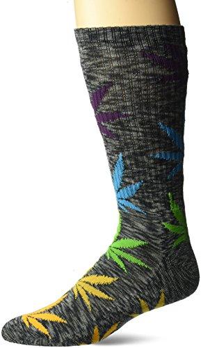HUF Melange Plantlife Socks Black Multi O/S