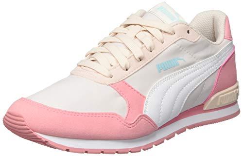 Puma Unisex St Runner V2 Nl Jr Sneaker, Pink (Rosewater-Peony White), 37.5 EU