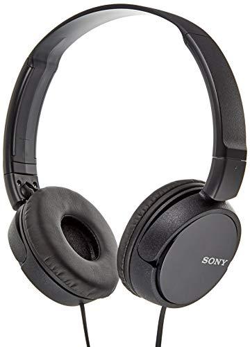 ソニー ヘッドホン MDR-ZX310 : 密閉型 折りたたみ式 ブラック MDR-ZX310 B