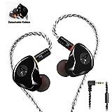 in-Ear Monitors in Ear Headphone Earbuds Wired Earphone Dual Drivers Headphone with MMCX Detachable...