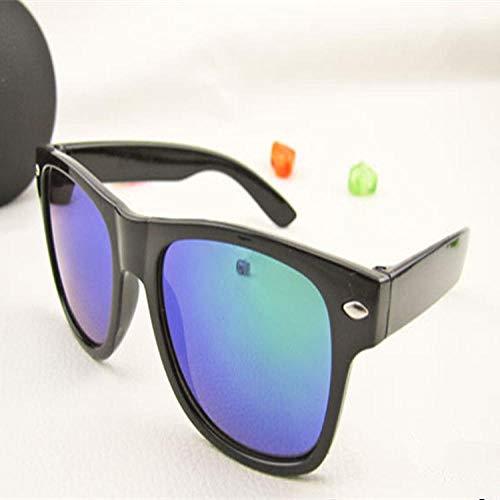 Gafas De Sol Polarizadas Fashion Sunglasses Men Square Sunglasses Women Driving Coating Points Black Frame Sun Glasses Male Glasses Uv400 Green