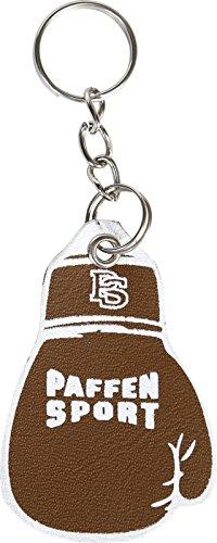 Paffen Sport Key Leather Mini-Boxhandschuhe als Schlüsselanhänger, braun