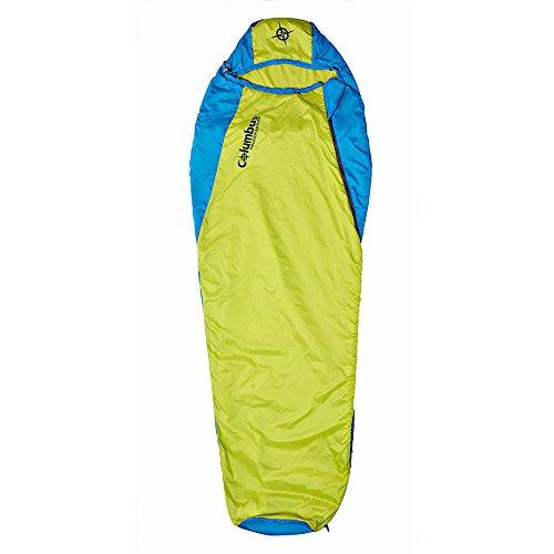 COLUMBUS Misti 60 L - Momia Stock, Blau/Gelb Neon, One Size
