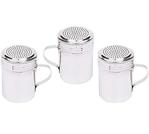 Our #4 Pick is the Tezzorio Stainless Steel Dredge Shaker