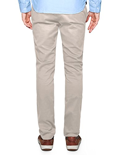 Match Men's Slim Tapered Stretchy Casual Pant (36, 8066 Apricot)
