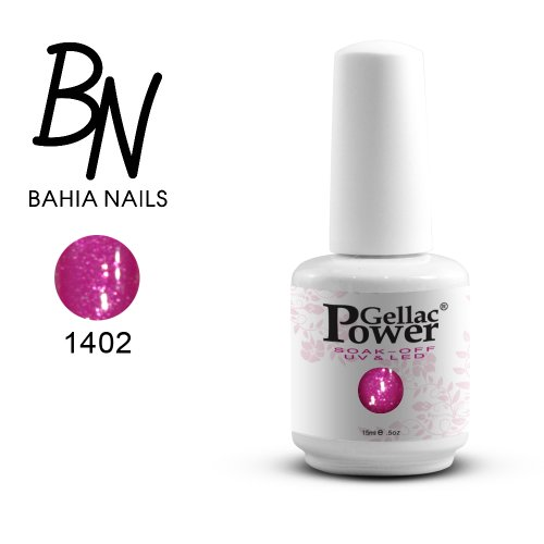 Bahia Nails - Power Gellac Tenue Parfaite? Vernis à Ongles UV Ou LED Semi Permanent 15 ml. 1402