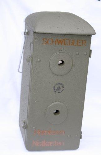 Hornissennistkasten, Holzbeton, mit Aufhängeöse, Markenware von Schwegler