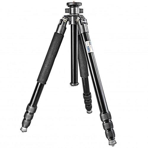 Impulsfoto Dreibein Reisestativ Magnesium (Hoehe: 162 cm, Gewicht: 1,79 kg, Belastbarkeit: 13kg) schwarz | Stativ Triopo MX-1328 – mit Wasserwaage & Reisetasche