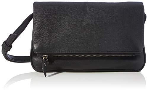 Liebeskind Berlin Aloe Clutch, Small (14 cm x 21.5 cm x 2.5cm), black