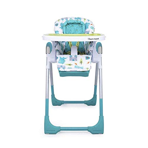 Cosatto Noodle 0+ Highchair - Compact, Height Adjustable, Foldable, Easy Clean, From birth to 15kg (Dragon Kingdom)