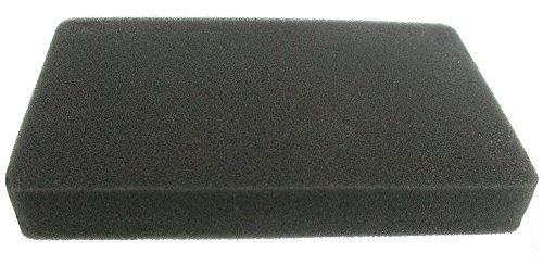 Greenstar 5695Luftfilter, quadratisch aus Schaumstoff, anpassbar für Robin 185x 115x 25mm