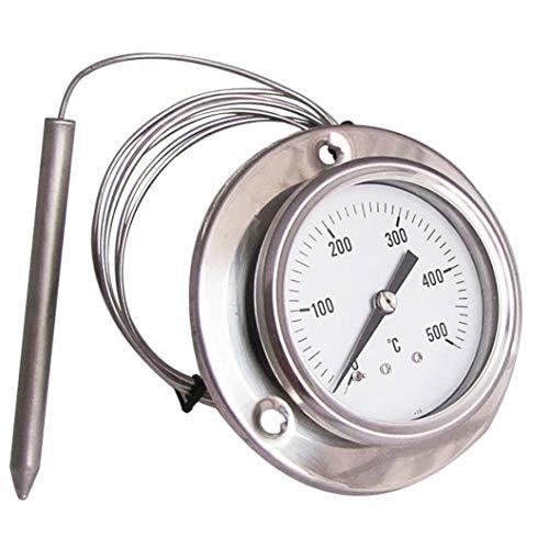 Termometro Forni A Legna E Barbecue Vari Usi Acciaio 0 500 Gradi
