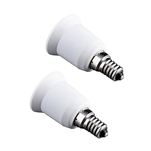 Haobase Konverter/Adapter für Lampen-/Glühbirnen-Fassung , E14 to E26