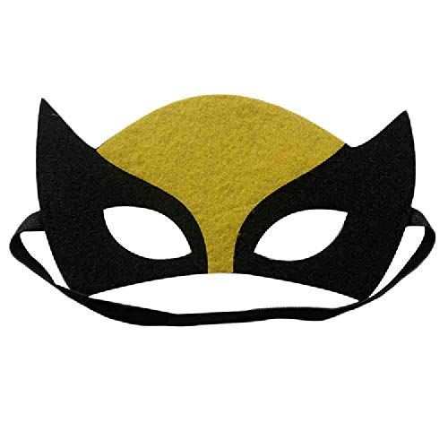 AYLWKS Superheld Cosplay masker kinderen Kerstmis kinderen feestmaskerade kostuums vilt maskers