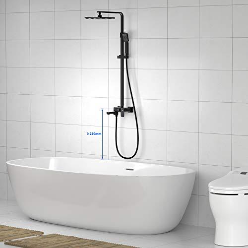 AuraLum Juegos de grifería para bañera y ducha