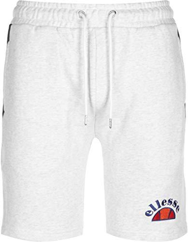 ellesse Fleece Shorts Alfonsi (M, White Marl)