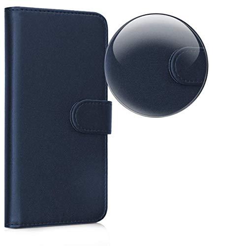 Compatible con Huawei P9 Lite (5.2) / G9 lite/VNS-L23 VNS-L21 VNS-L31. Funda protectora tipo libro de gel de silicona, protección TPU y piel ecológica con tarjetero magnético