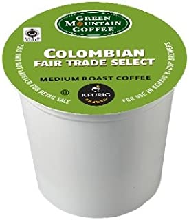 Green Mountain Coffee K-Cup Portion Pack for Keurig K-Cup Brewers, Columbian Fair Trade, Medium Roast(Pack of 96)