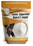 Judee's Superfine Caster Baker's Sugar (2.5 lbs) Non-GMO ~ Made in USA...