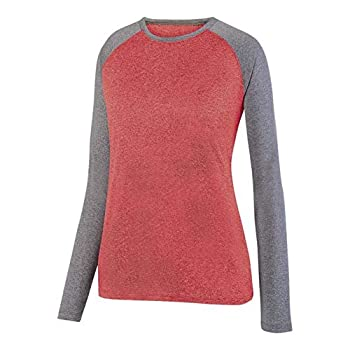 Insect Repelling Performance Outdoor Recreation Shirt | Wash Durable  Red/Grey X-Large