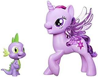Hasbro My Little Pony Princess Twilight Sparkle Spike The Dragon Friendship Duet Action Figure - 3 Years & Above
