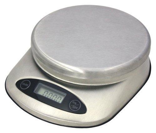 ZUCCOR Balance alimentaire professionnelle en acier inoxydable 11 lb.
