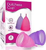 Copas Menstruales Dutchess – Talla Grande A (25 Mililitro) Para Mujeres Después De Parto Natural...