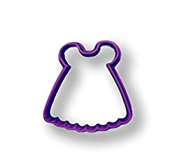 Baby Doll Dress Cookie Cutter (3 Inch)