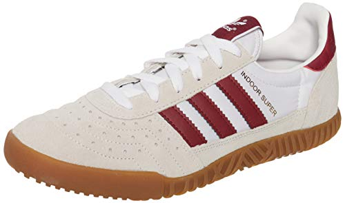 adidas Originals Indoor Super - beige/weinrot - EU 41 1/3