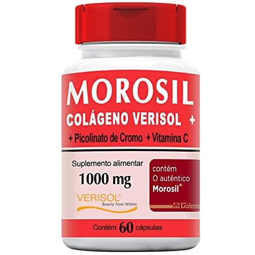 Morosil com Colágeno Verisol + Vitamina C 1000mg 60 Cápsulas