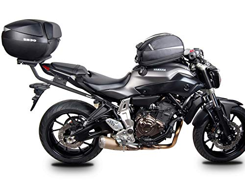 SHAD Y0MT74ST Soporte de Baúl para Yamaha Mt07, Negro