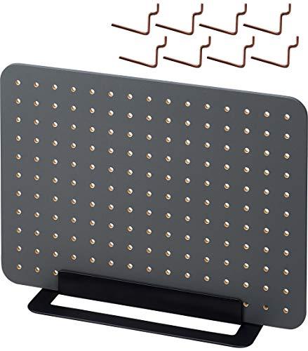 キングジム ボード 卓上収納 有孔ボード 工具不要 PEGGY 黒 PG400クロ