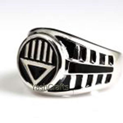Lantern Ring, Black Lantern Men's Ring, Lantern Jewelry, Lantern Ring, Handmade Ring, Statement Ring, Christmas Ring, Halloween Gift Ring