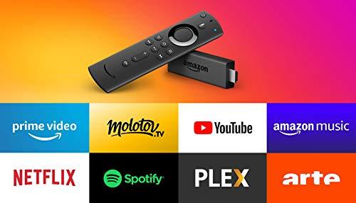 Fire TV Stick Reconditionné Certifié avec télécommande vocale Alexa, Lecteur multimédia en streaming