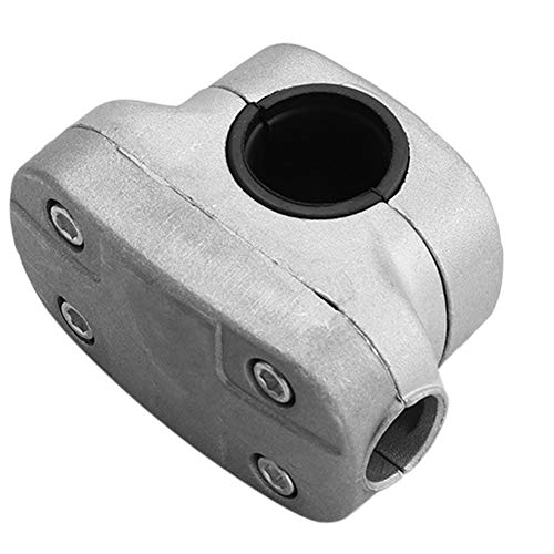 keyren Abrazadera de Anti-erosión de Cortador de césped, Duradera Abrazadera de de Aluminio Gris 26 mm para desbrozadora, para desbrozadora, Tubo de desbrozado