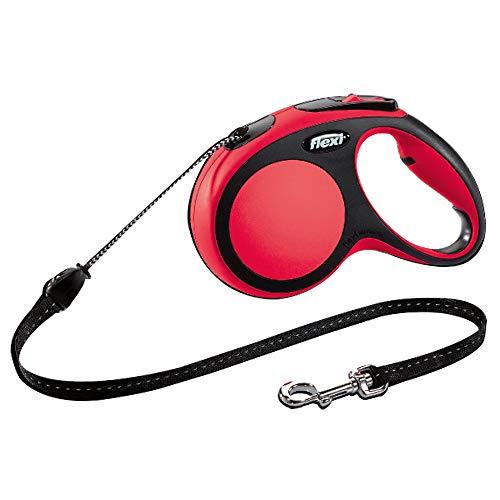 flexi New Comfort XS Seil 3 m rot für Hunde bis 8 kg
