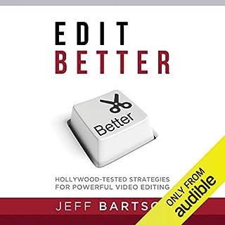 Edit Better audiobook cover art